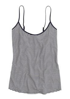 Whisper jersey cami in stripe