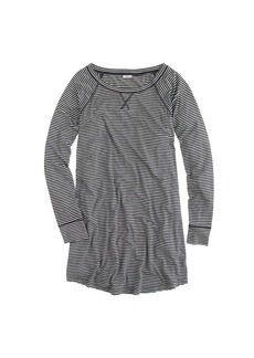 Whisper jersey nightshirt in stripe