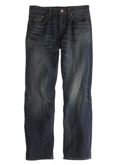 Wide-leg cropped jean in lowry wash