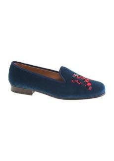 Women's Stubbs & Wootton® velvet slippers