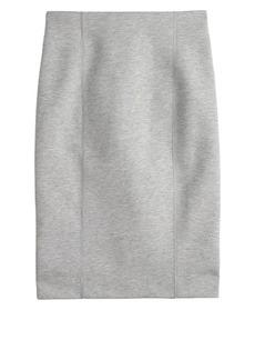Zip-back surf pencil skirt