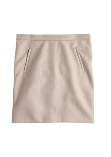Zip-pocket mini skirt
