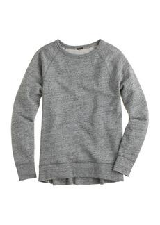 Zip tunic sweatshirt