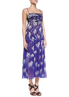 Floral-Print Strapless Dress   Floral-Print Strapless Dress