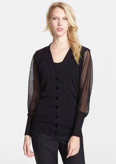 Jean Paul Gaultier Cold Shoulder Cardigan