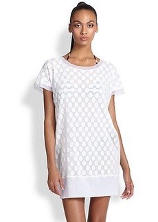 Jean Paul Gaultier Dotted Tulle Tunic