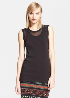 Jean Paul Gaultier Double Layer Tank