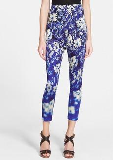 Jean Paul Gaultier Floral Jersey Leggings