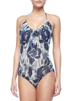 Jean Paul Gaultier Floral-Print One-Piece