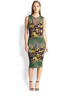 Jean Paul Gaultier Floral-Print Tank Dress