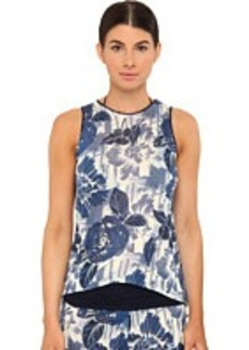 Jean Paul Gaultier Flower Viscose Tank Tunic