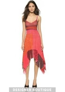 Jean Paul Gaultier Jagged Hem Tank Dress