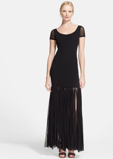 Jean Paul Gaultier Knotted Hem Tulle Dress