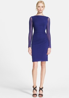 Jean Paul Gaultier Long Sleeve Tulle Dress
