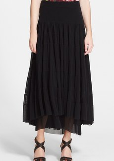 Jean Paul Gaultier Long Tiered Tulle Skirt