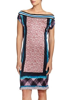 Jean Paul Gaultier Mixed-Media Coverup Dress