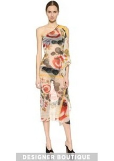 Jean Paul Gaultier One Shoulder Cover Up