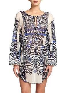 Jean Paul Gaultier Patchwork Coverup Dress