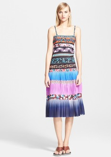 Jean Paul Gaultier Print Tiered Tank Dress