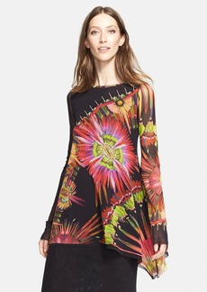 Jean Paul Gaultier Print Tulle Top (Nordstrom Exclusive)