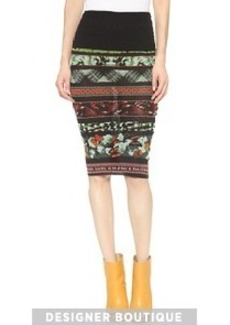 Jean Paul Gaultier Printed Skirt