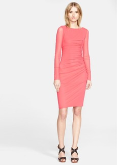 Jean Paul Gaultier Ruched Side Shirred Tulle Dress (Nordstrom Exclusive)