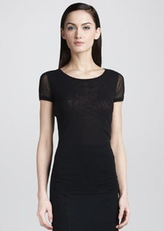 Jean Paul Gaultier Short-Sleeve Tee, Black