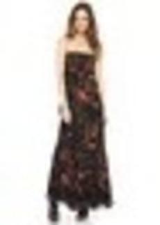 Jean Paul Gaultier Sleeveless Printed Maxi Dress
