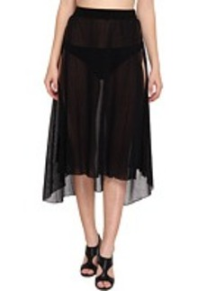 Jean Paul Gaultier Solid Wrap Skirt
