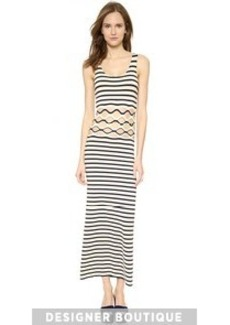 Jean Paul Gaultier Striped Cutout Dress