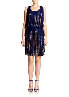 Jean Paul Gaultier Tattoo Fringe Dress