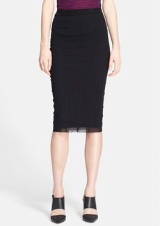 Jean Paul Gaultier Tulle Pencil Skirt