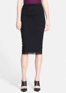 Jean Paul Gaultier Tulle Pencil Skirt
