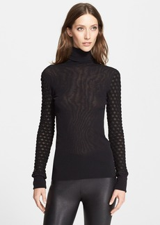 Jean Paul Gaultier Tulle Turtleneck (Nordstrom Exclusive)