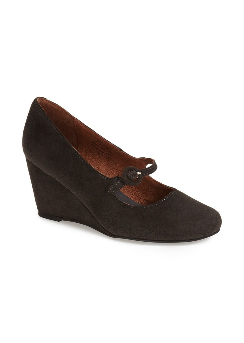 jeffrey campbell jeffrey campbell 39 hazelmae 39 mary jane wedge women shoes shop it to me. Black Bedroom Furniture Sets. Home Design Ideas