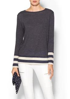 JET by John Eshaya Stripe Sweater