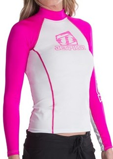 Jet Pilot Mrs. Corpo Rash Guard - Long Sleeve (For Women)