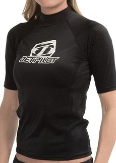 Jet Pilot Mrs. Corpo Rash Guard - Short Sleeve (For Women)