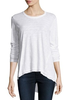 Jethro Long-Sleeve Slouchy Top