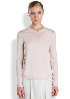Jil Sander Cashmere & Silk Sweater