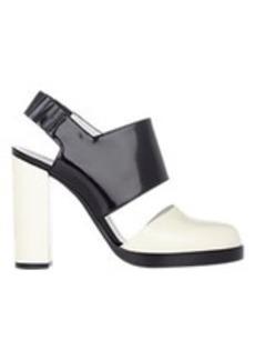 Jil Sander Colorblack Slingback Sandals