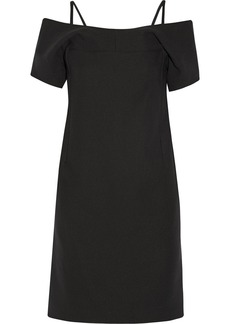 Jil Sander Cotton-blend stretch-crepe dress