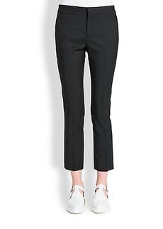 Jil Sander Cropped Cotton Pants