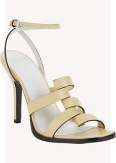 Jil Sander Foldover-Strap Ankle-Strap Sandals