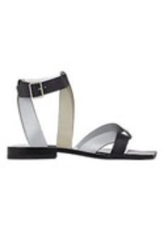 Jil Sander Foldover-Strap Sandals