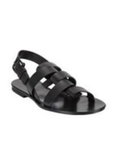 Jil Sander Foldover-Strap Slingback Sandals