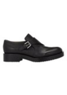 Jil Sander Leather Monk-Strap Shoes