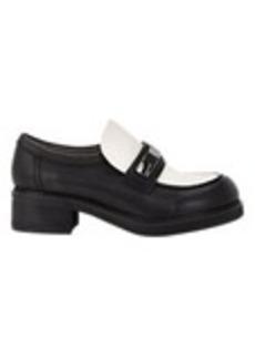 Jil Sander Leather Platform Loafers