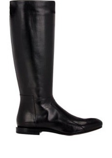 Jil Sander Leather Side-Zip Knee Boots