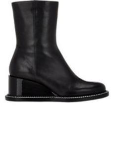 Jil Sander Leather Wedge Boots